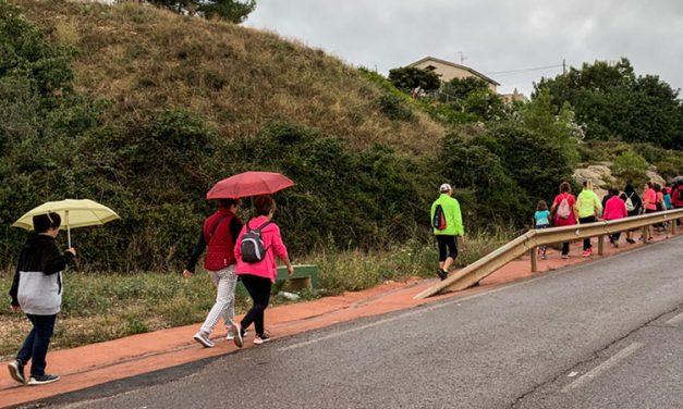 ASAC sube en romería a La Esperanza pese a la lluvia