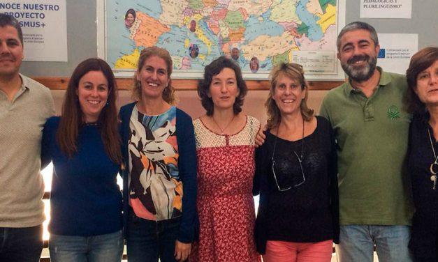 7 profesores del Ies Cueva Santa mejoran su formación con Erasmus +