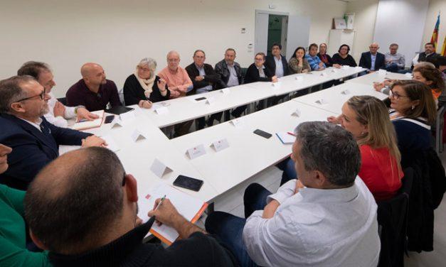 Martí se reúne con los alcaldes del Palancia en Segorbe