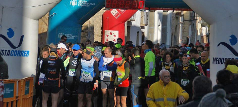 Juanjo López y Laura Costa coronan la II Carrera por montaña de Barracas