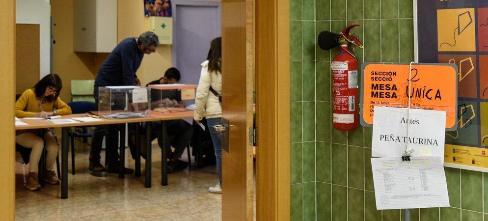 El Palancia abre sus colegios electorales sin incidencias