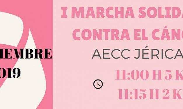 Jérica convoca una marcha solidaria contra el cáncer