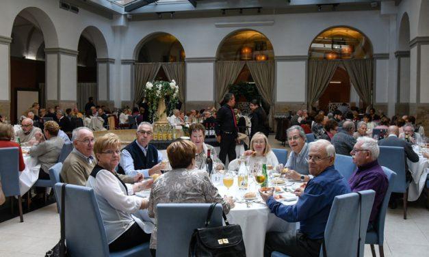 La Asociación de pensionistas celebra su fin de fiesta