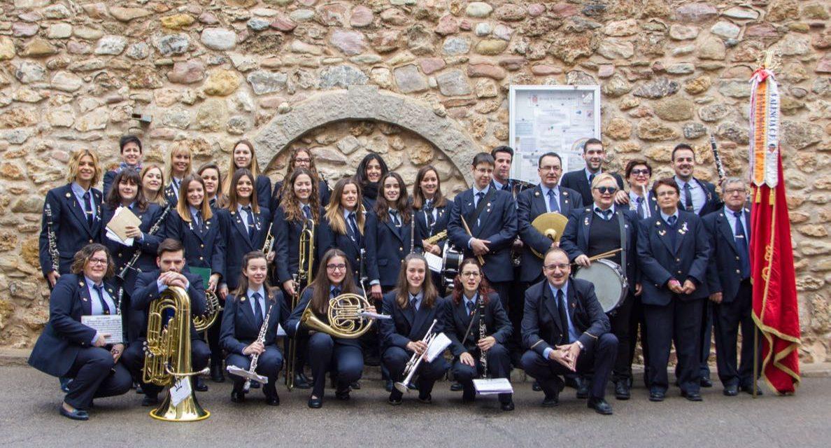 Gastronomía y música por Santa Cecilia en Geldo
