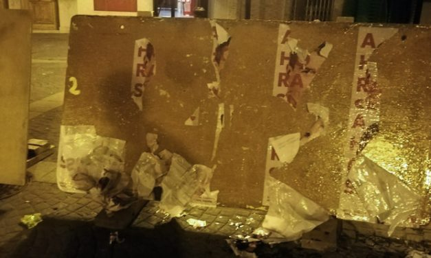 Arrancan los carteles del PSOE en Altura nada más comenzar la campaña