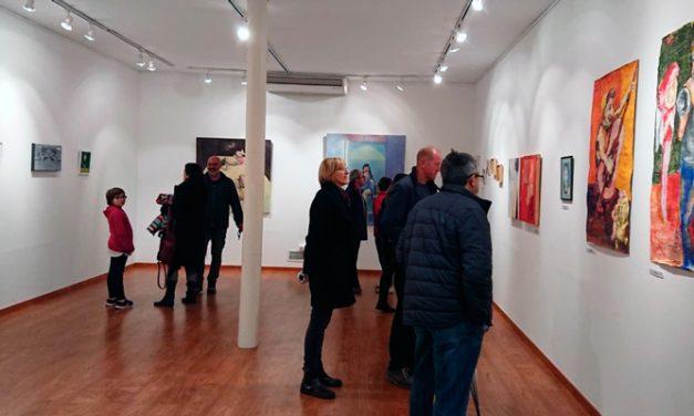 Diez mujeres artistas del Alto Palancia exponen en Altura