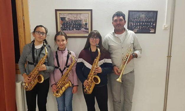 La banda de música de Jérica celebra Santa Cecilia