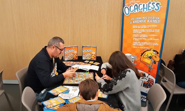El Ocachess estuvo presente en el GAME ON Madrid