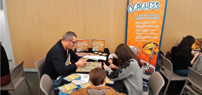 El Ocachess estuvo presente en el GAME ON Madrid