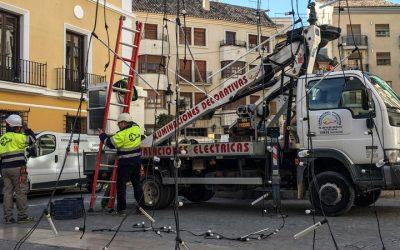 Las calles de Segorbe lucirán con miles de bombillas led por Navidad