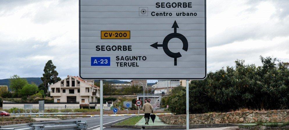 Finalizan las obras de la senda peatonal que une Segorbe y Peñalba