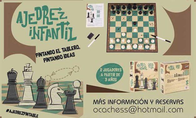 Una firma segorbina lanza al mercado el primer ajedrez pintable