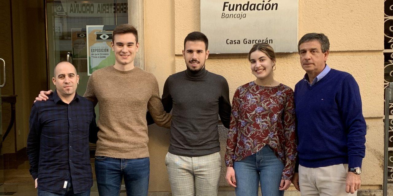 Fundación Bancaja reparte 7.500 € ente 4 jóvenes de la comarca