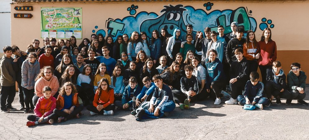 Diputación reúne a un centenar de jóvenes en Jérica