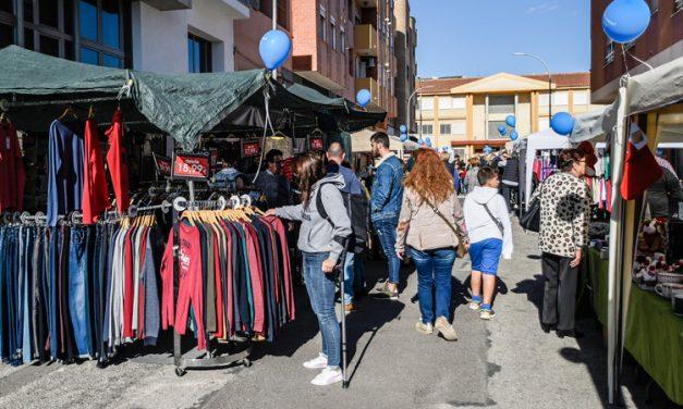El buen tiempo favorece las visitas al Mercado de Oportunidades
