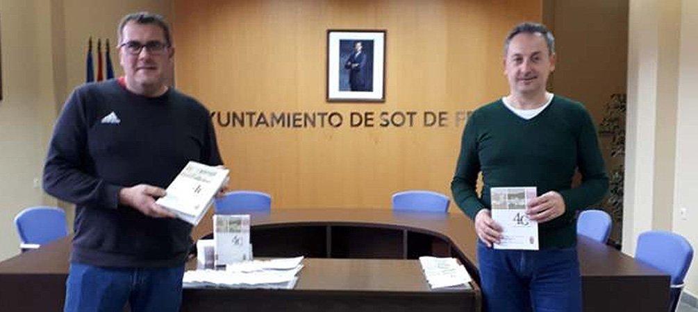 Sot de Ferrer festeja en el Día de la Constitución 40 años de gobierno democrático