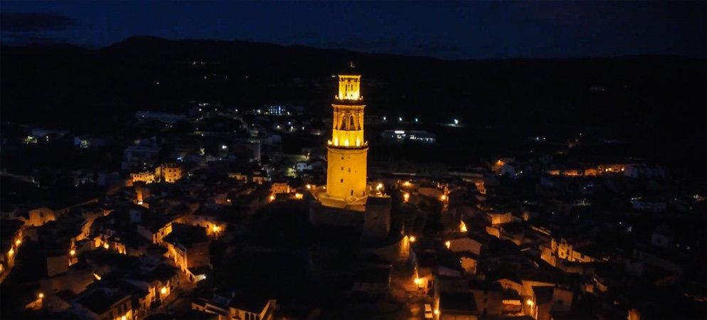 Jérica sale en la felicitación navideña de Diputación de Castellón