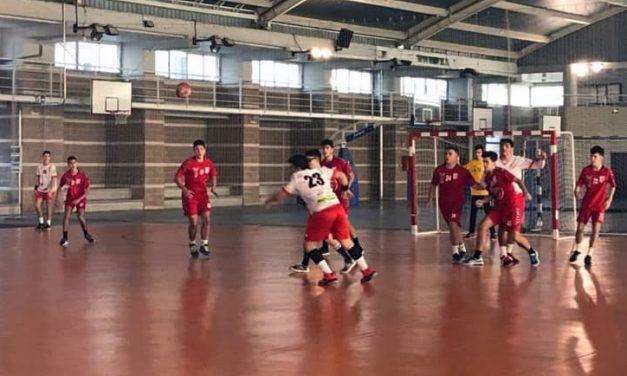 Triunfos para los equipos juvenil y cadete masculino del balonmano de Altura