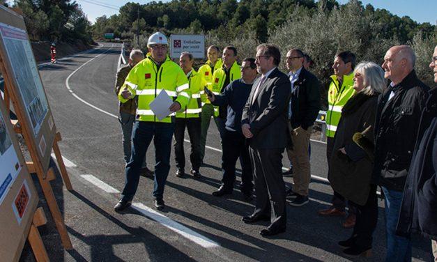 Diputación invierte 1,2 m de € en carreteras de la comarca