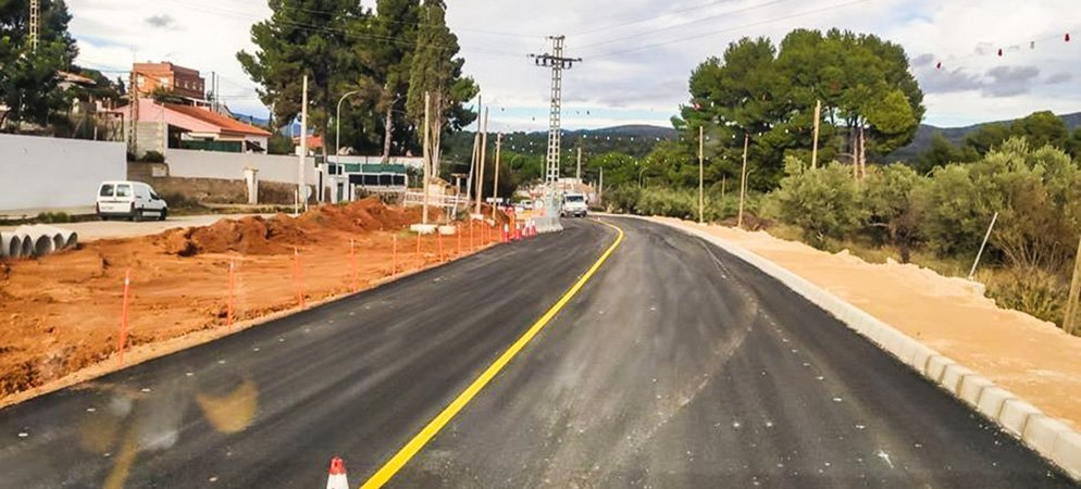 La carretera de Navajas se reabre al tráfico en Navidades