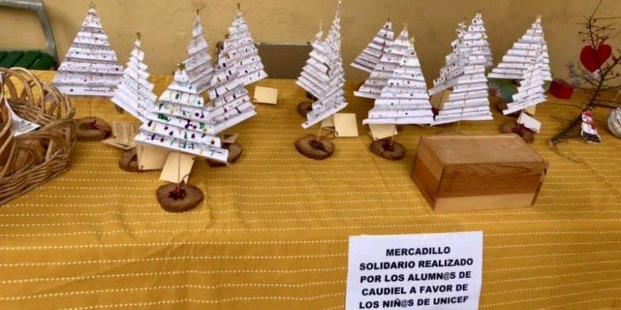 Caudiel celebra un Mercadillo Solidario a favor de UNICEF