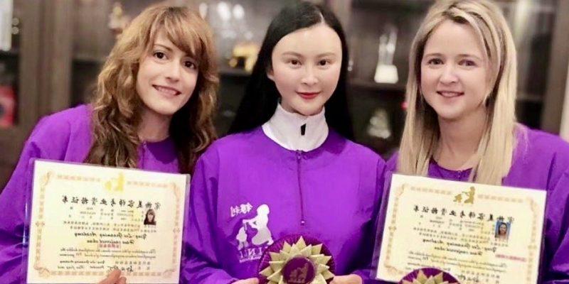 Una castellnovera gana en China un concurso de peluquería canina