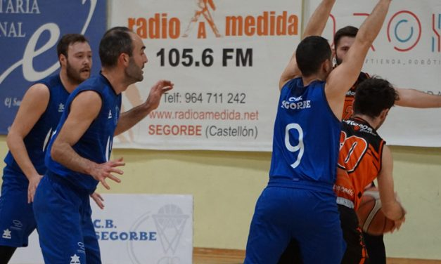 Baux CB Segorbe derrota por 81-59 al Basket Sedaví
