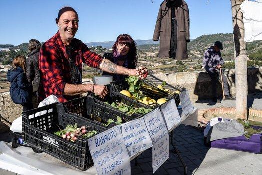 Sopeña acoge un Mercado Sostenible de productos ecológicos y enseres