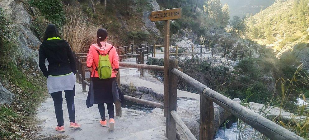 Jérica mejora el acceso al paraje Vuelta de la Hoz