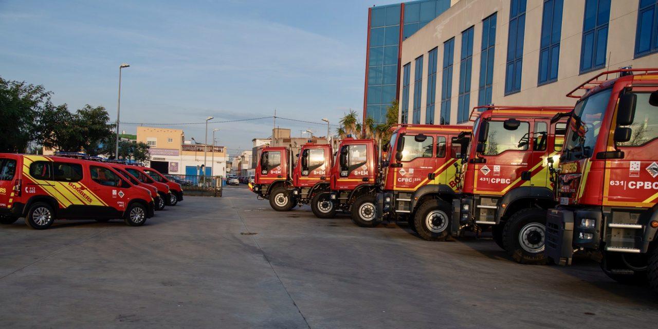 Nuevos coches para los bomberos de Segorbe, Benicarló y Nules