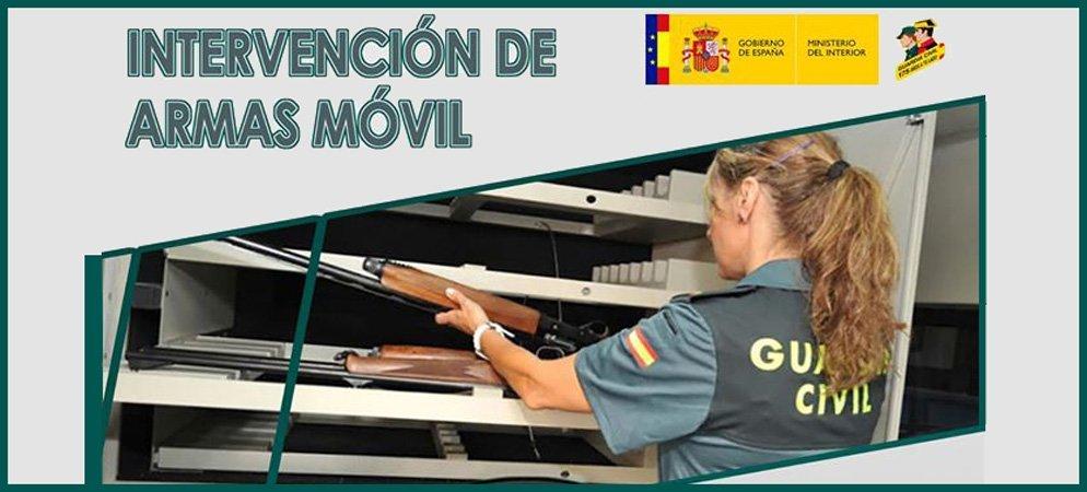 Bejís y Barracas visitadas por el Servicio Móvil de de Intervención de Armas