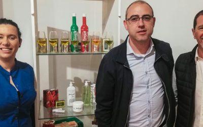El diputado de Desarrollo Rural acude ael Museo del Aceite