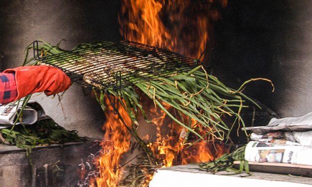 Los vecinos de Cárrica preparan una calçotada para el sábado