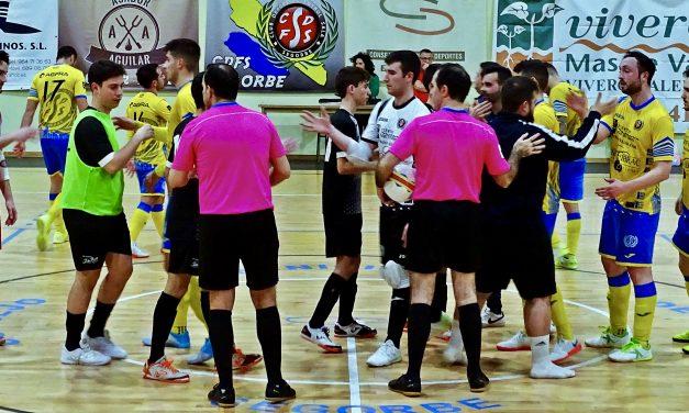 Viveros Mas de Valero juega un disputado partido frente al Puzol