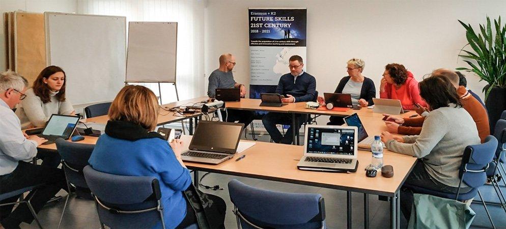 Representantes del IES Alto Palancia participan en  Erasmus+ K2.