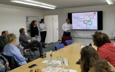 Una delegación del IES Alto Palancia visita la Agencia Erasmus de Liechtenstein