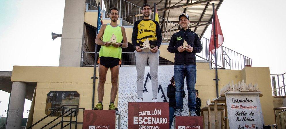 Ganadores de la XXII Maratón Espadán
