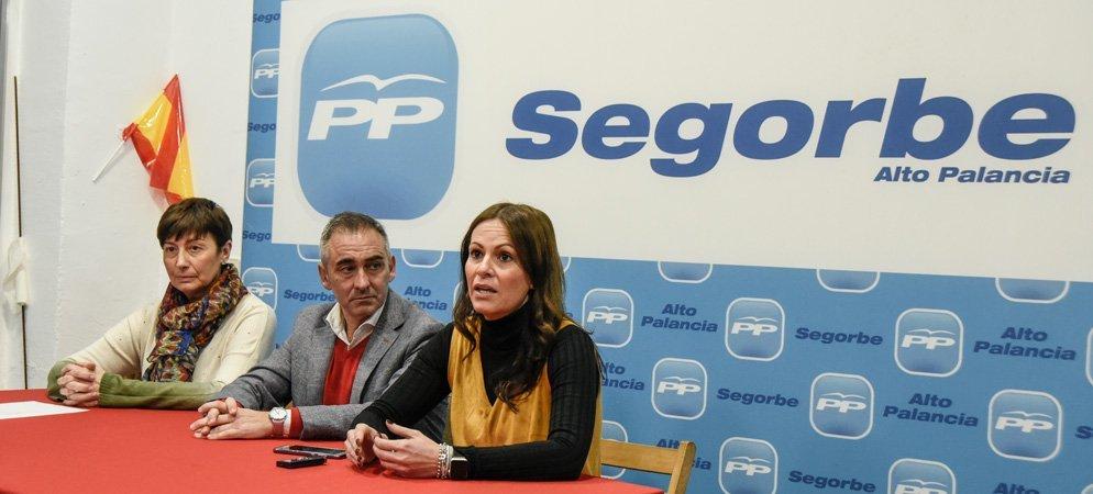 El PP moviliza la comarca contra la imposición del valenciano