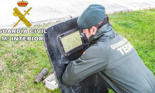 El GEDEX desactiva viejos explosivos y aconseja qué hacer con ellos