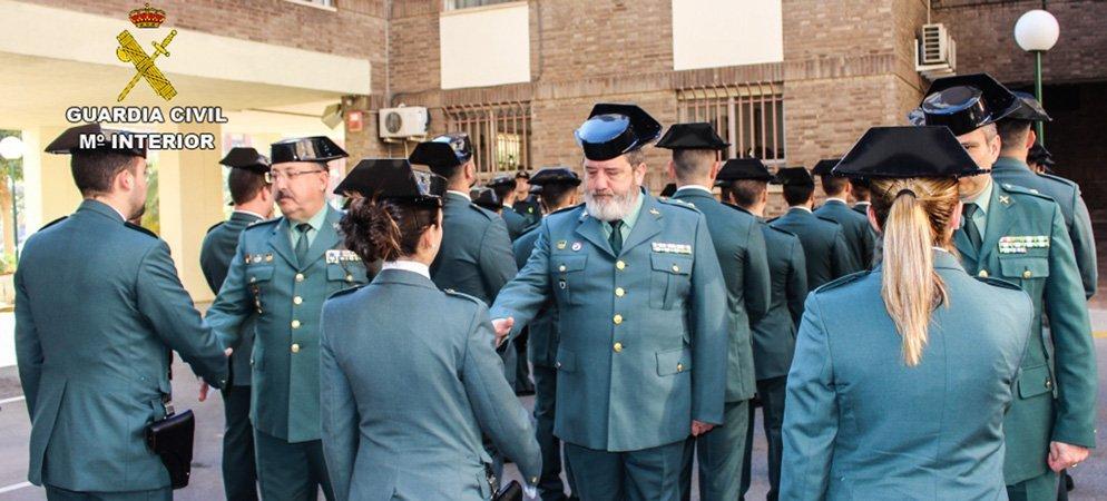 La Guardia Civil incrementará la vigilancia tras cubrir sus vacantes