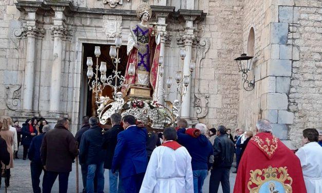 Los jericanos salen a la calle para participar en la Fiesta de Santa Agueda