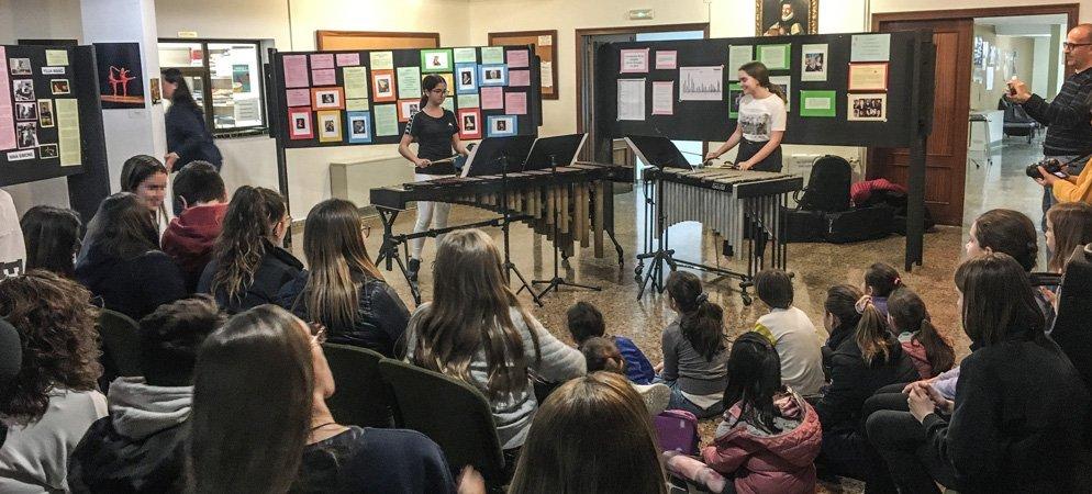 El Conservatorio organiza la exposición «Mujeres y música»