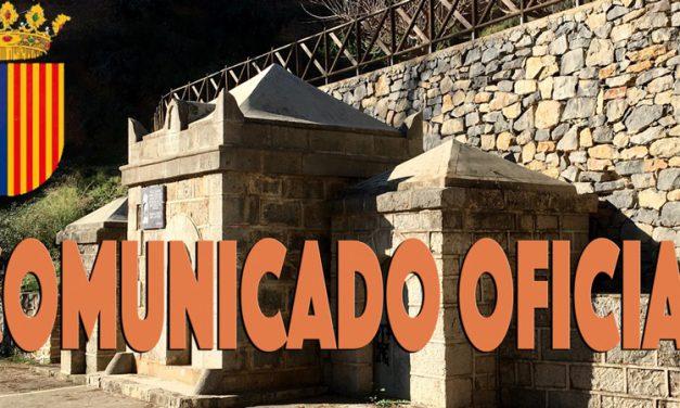Altura anuncia la suspensión de las Fiestas del Berro