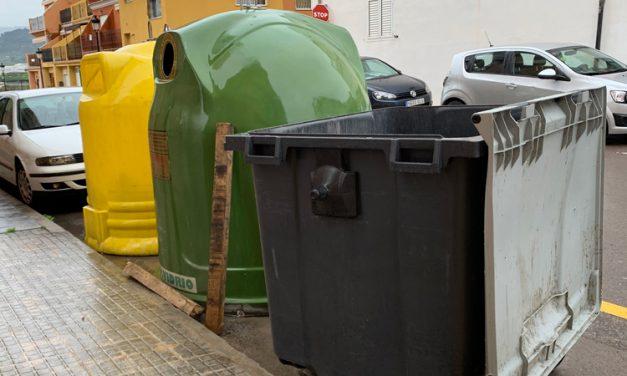 Dejar abiertos los contenedores para evitar la propagación del COVID