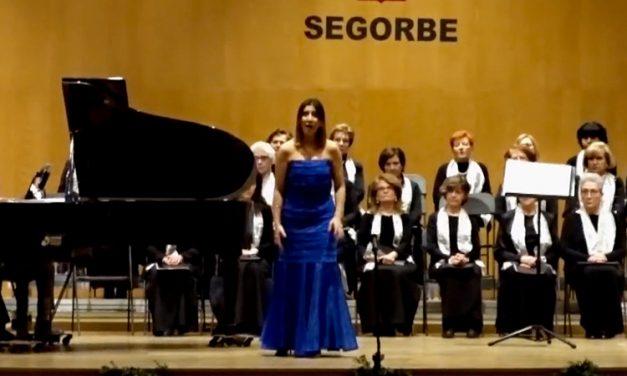 Exitosa gala lírica la ofrecida por la soprano Silvia Vázquez