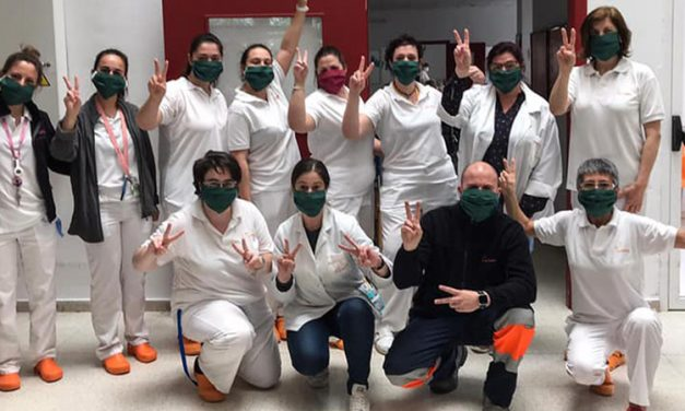 «Mascarillas solidarias» de Altura cose 3.000 máscaras