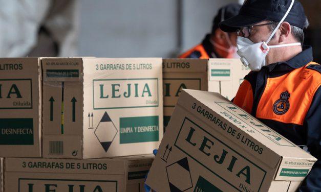 Diputación empieza a repartir material a los pueblos contra el COVID-19