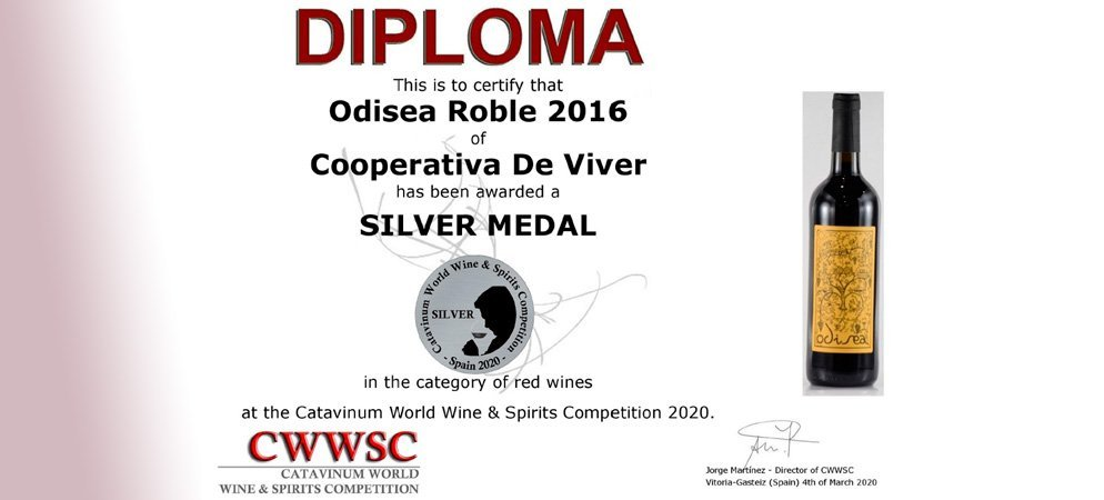 «Odisea» de la Cooperativa de Viver consigue una medalla de plata internacional