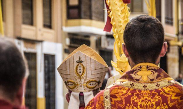 Los oficios religiosos de Semana Santa serán retrasmitidos en TV