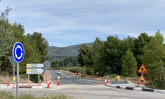 Diputación reinicia las obras de la carretera de Navajas